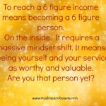 6 Figure Income Person